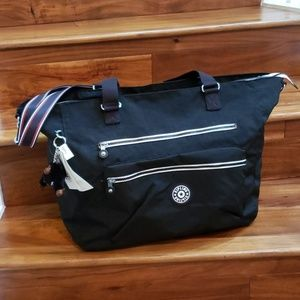 NWT kipling ISAAC LARGE Total/Carry-on